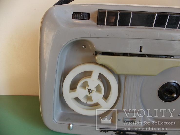 """1968 год. Портативный двухдорожечный магнитофон """"Весна 2"""" +бонус, фото №5"""