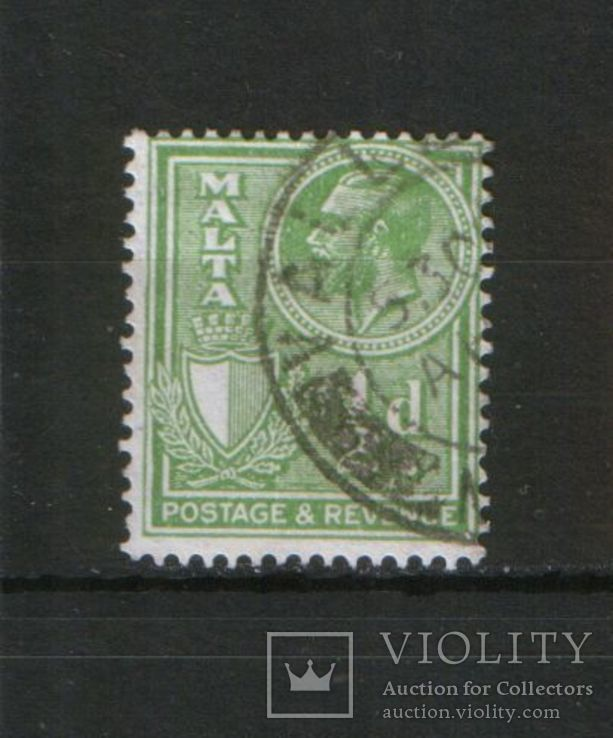 Брит. колонии. Мальта 1930 Король Георг V