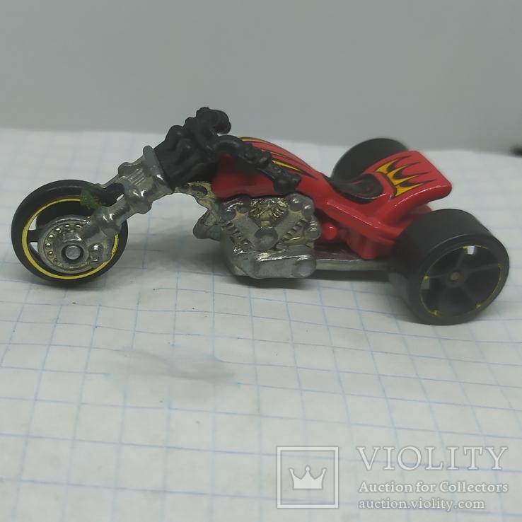 Мотоцикл. металл, фото №5