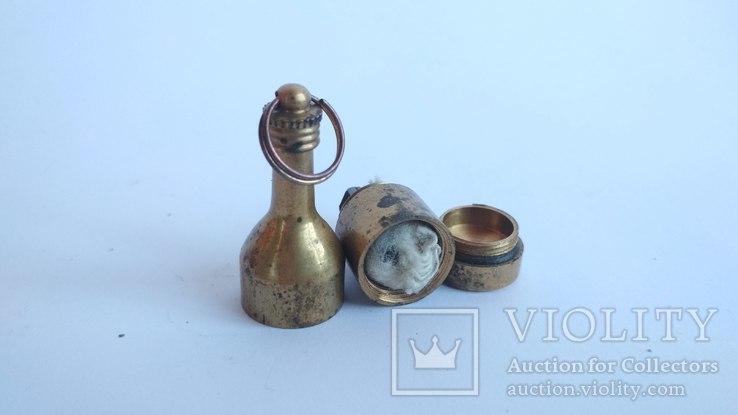 Старая бронзовая зажигалка, фото №5