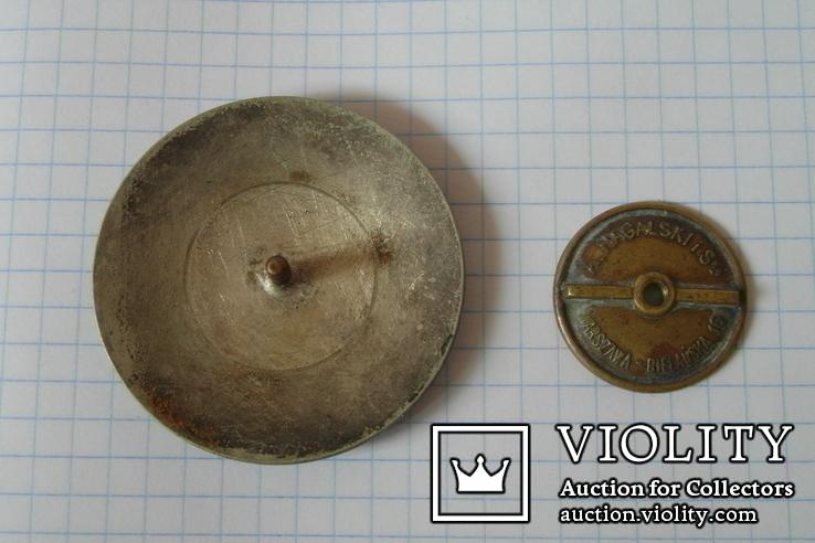 Идентификационный жетон польского полицейского №861, фото №2