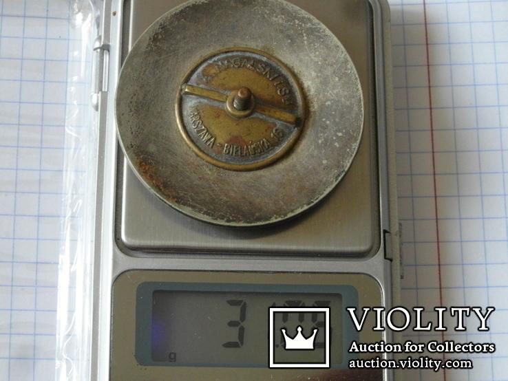Идентификационный жетон польского полицейского №861, фото №6