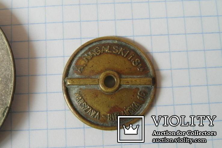 Идентификационный жетон польского полицейского №861, фото №7