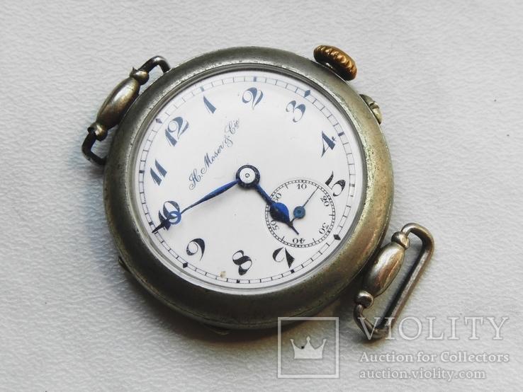 Часы Генри Мозер не рабочие, на восстановление или запчасти.