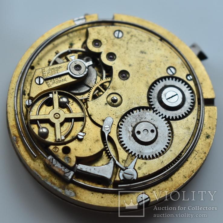 Механизм со старинных карманных золотых часов с боем