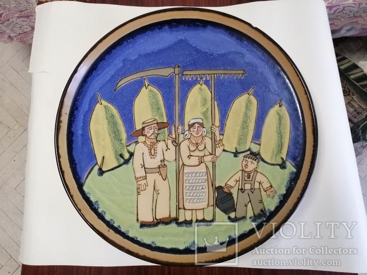 Настенная тарелка ЛКСФ