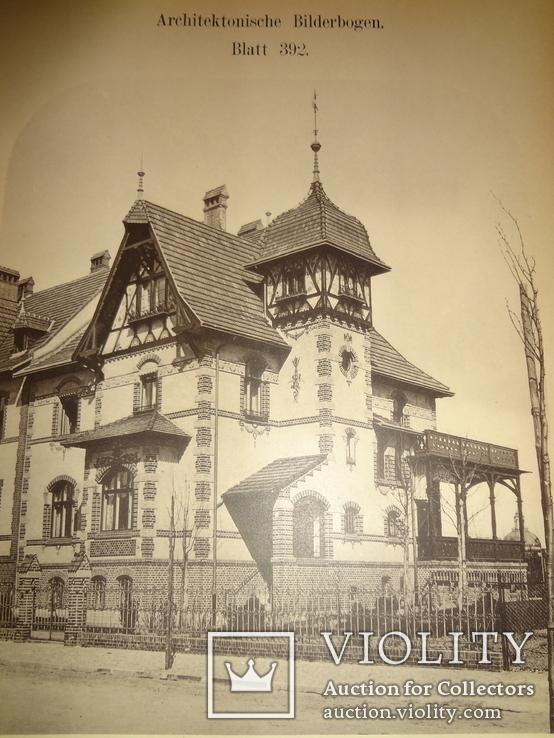 1896 Архитектура Огромного Формата 42 на 29, фото №2