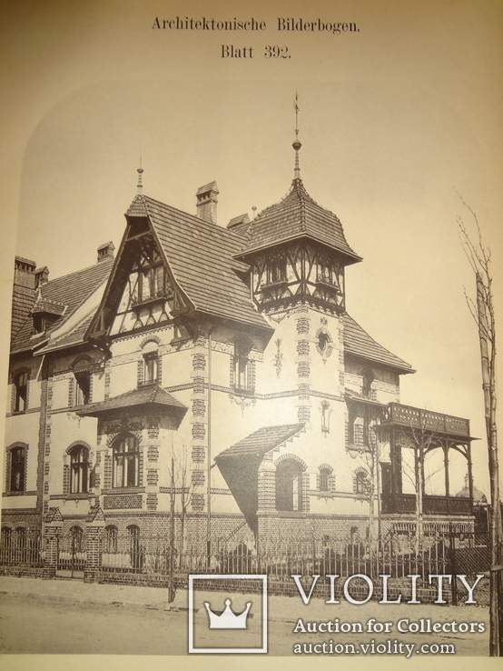 1896 Архитектура Огромного Формата 42 на 29, фото №13
