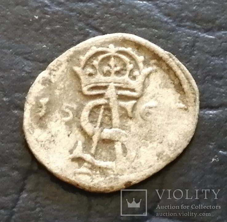 Срiбна монета 156..?року, фото №3