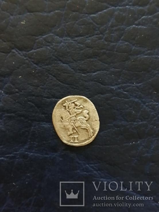 Срiбна монета 156..?року, фото №4