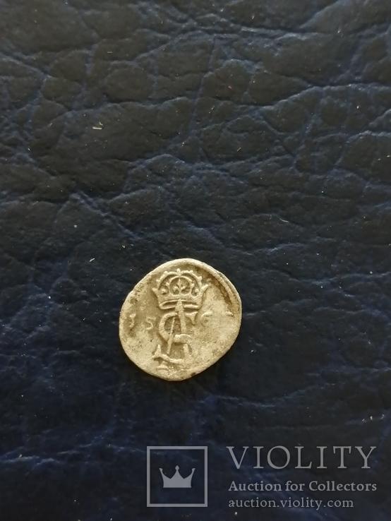 Срiбна монета 156..?року, фото №5