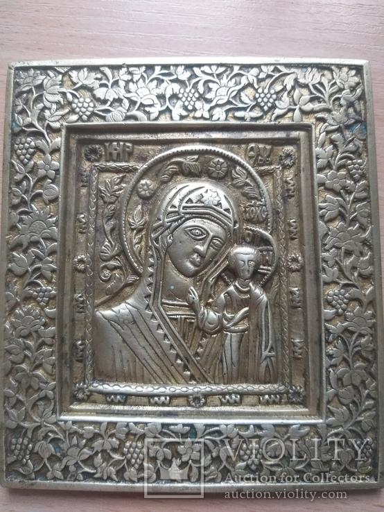 Икона Казанської Божої Матері. 19 ст.