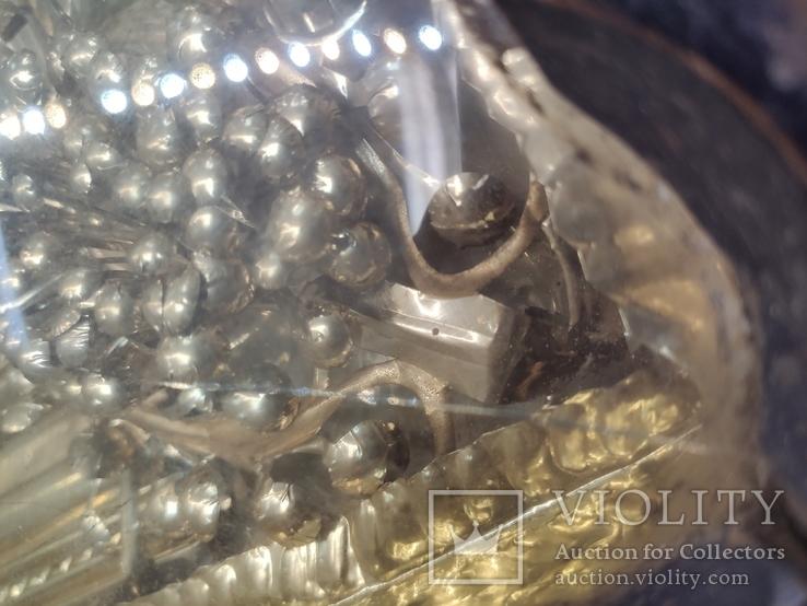 Икона Св.Димитрий Мироточивый. Фигурный киот. 40х44см., фото №6