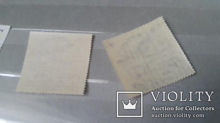 5 марок негашеных серии Авиапочта+2 марки номинал 20 и 80к, фото №3
