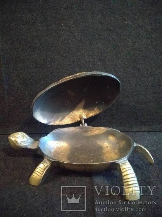 Черепаха-пепельница, фото №4