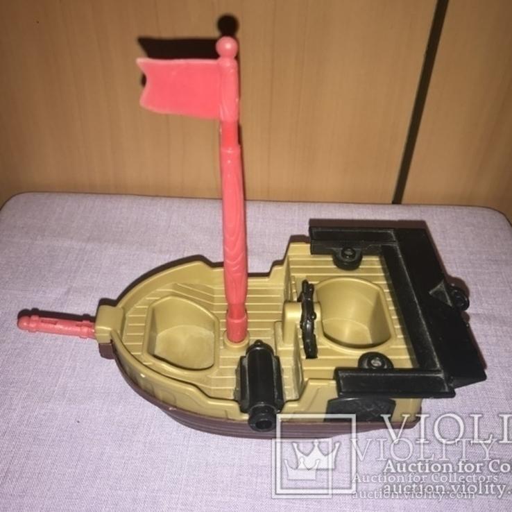 """Игрушка """"Корабль с пушкой""""., фото №2"""