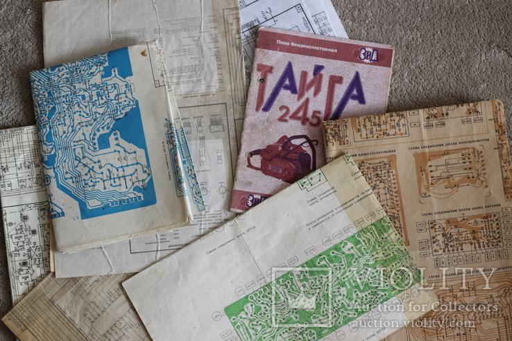 Паспорта, инструкции по эксплуатации 30 шт., фото №3