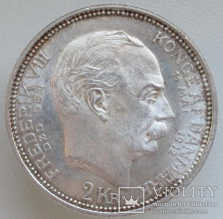 Дания 2 кроны 1912 г.