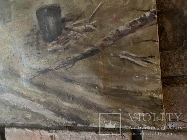 Соцреализм. Картина СССР, 1976г., 70х94см, фото №5