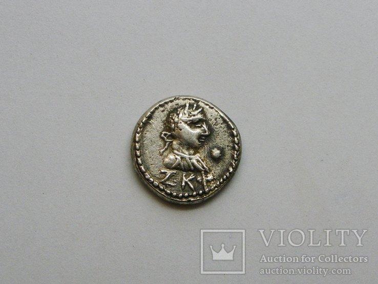 Статер Котис III ZΚΦ ( 527 г б э) трезубец - точка