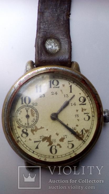 Часы Кировские старые массивные 1-й ГЧЗ Москва СССР.