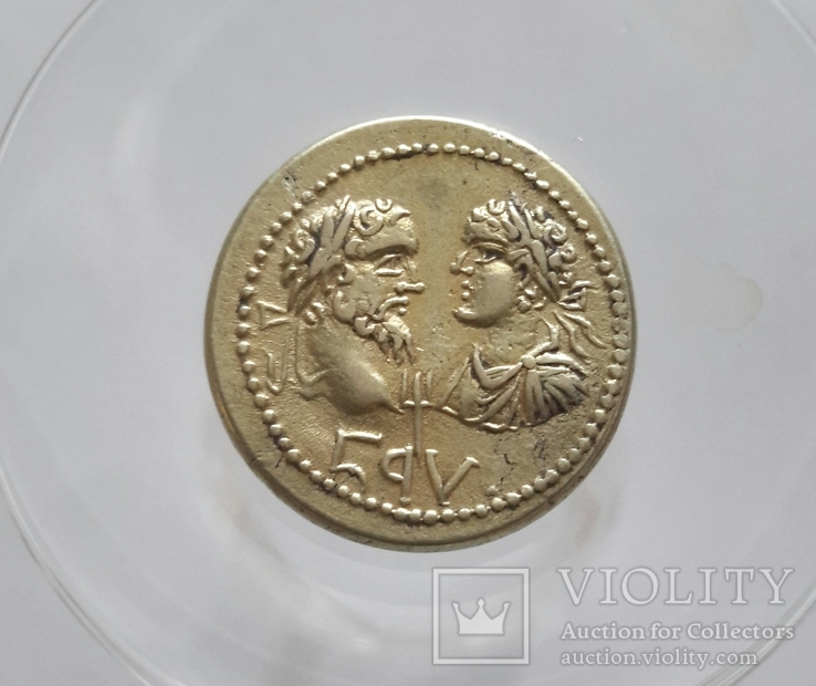 Боспор .Septimius Severus - Caracalla,174 / 5-210 / 1. Статер-Электрум, 20 мм, 7,79 г,