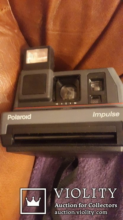 Ретро фотоаппарат Polaroid impulse, фото №3