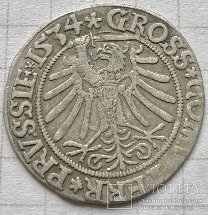 Западная Пруссия (королевская), Сигизмунд I, грош 1534, м.дв. Торунь