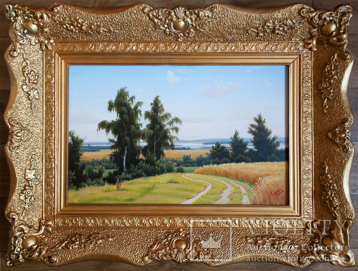 Засл. худ. Карась И.И. (1918-2000). Летний пейзаж.