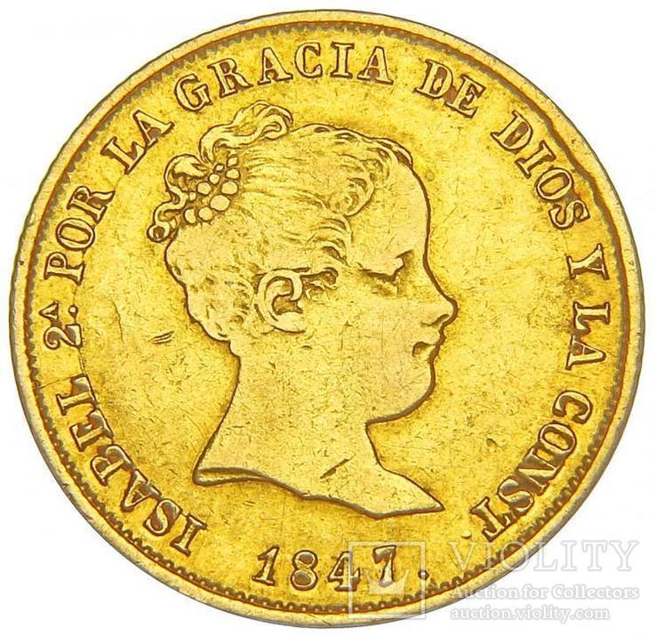 80 Реалов 1847, Испания