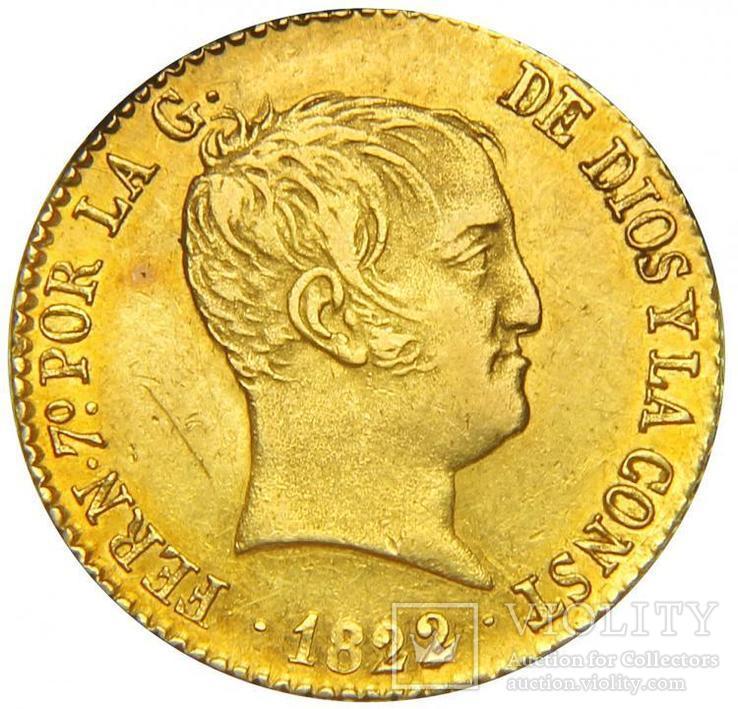80 Реалов 1822, Испания