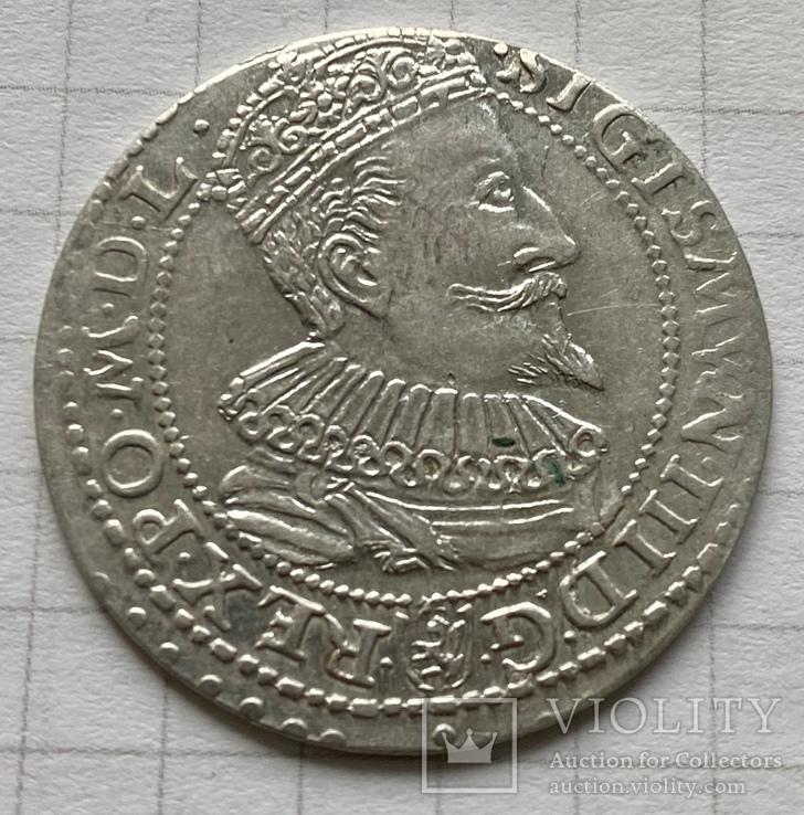 Королевство Польша, Сигизмунд III, шостак 1596, м.дв. Мальборк