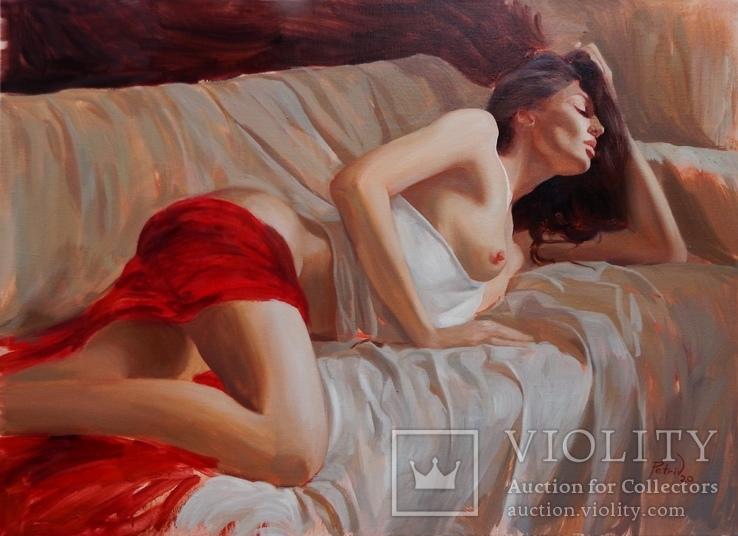 ''Girl'' (75х55) 2020 Авторская картина