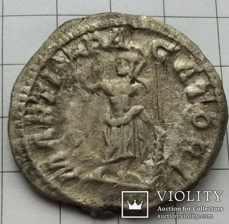 Денарий Каракалла (Caracalla) - 211 г., RIC 222, фото №4