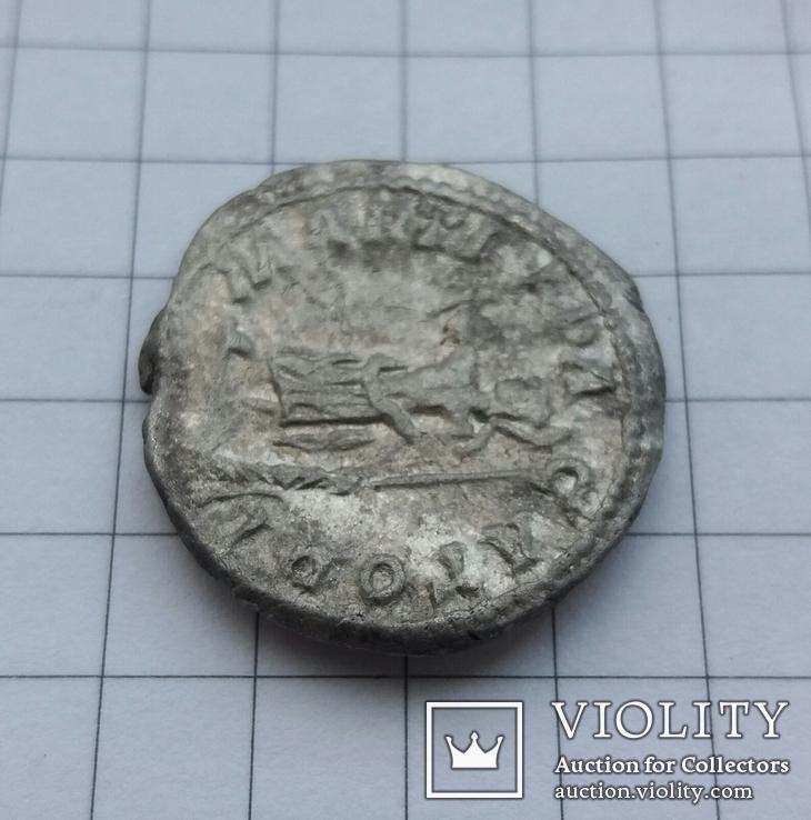 Денарий Каракалла (Caracalla) - 211 г., RIC 222, фото №7