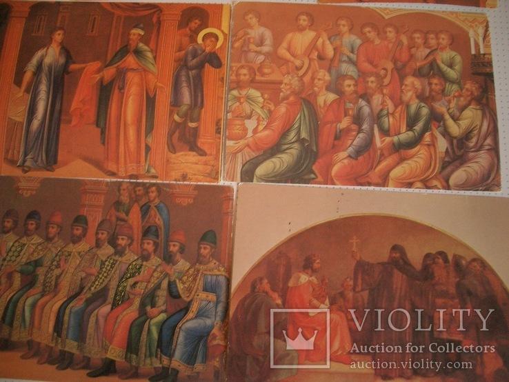 """7 открыток""""Живопись на стенах Грановитой палаты Кремля"""", фото №6"""