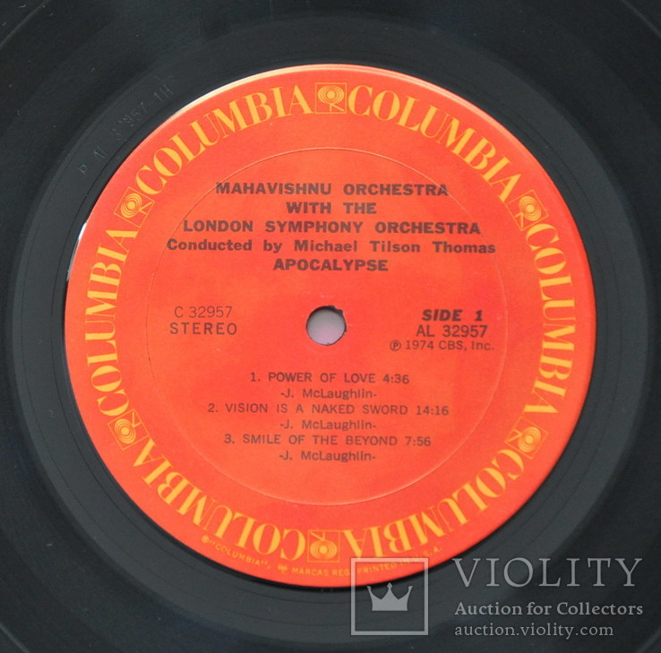 Mahavishnu orchestra with London Symphony orchestra/ Apocalypse  1974  USA, фото №5