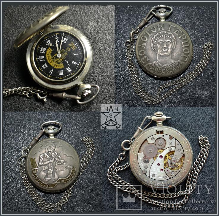 Часы  Молния Золотой Герцог(200 лет Одессе), фото №2