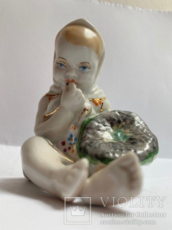 Девочка с подсолнухом «Старый Киев»