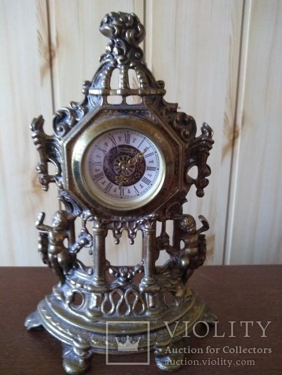 Бронзовые каминные часы, Германия