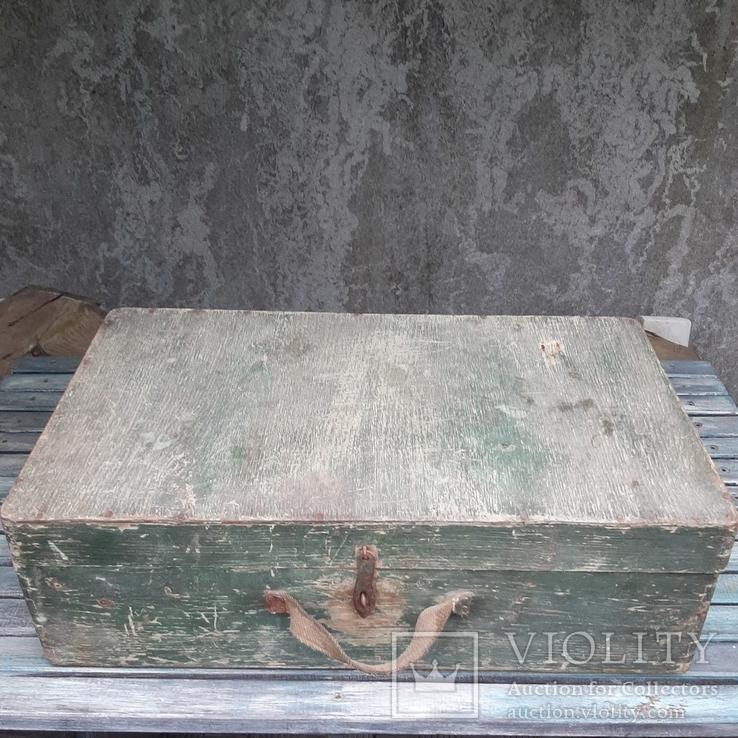 Чемодан деревянный 53 х 31 см, фото №3