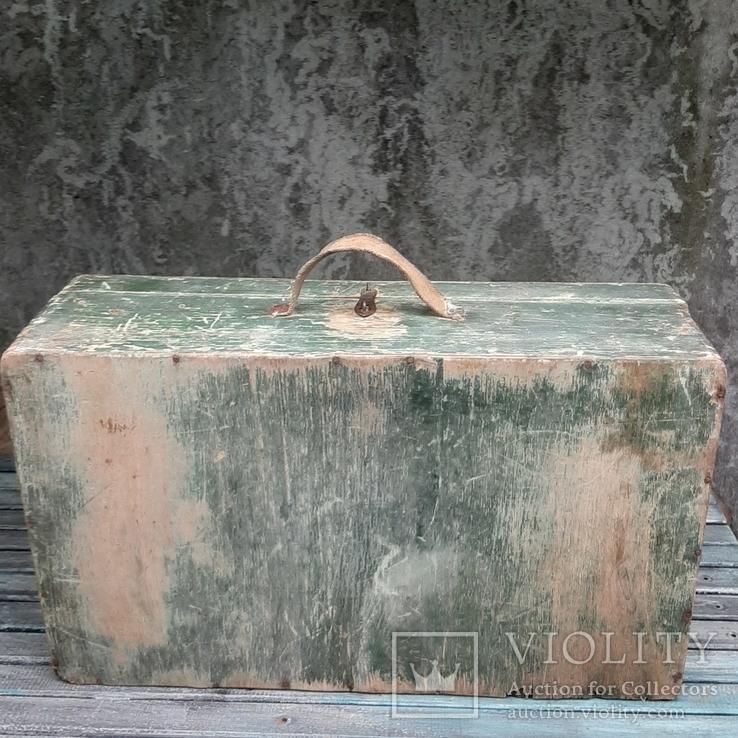 Чемодан деревянный 53 х 31 см, фото №6