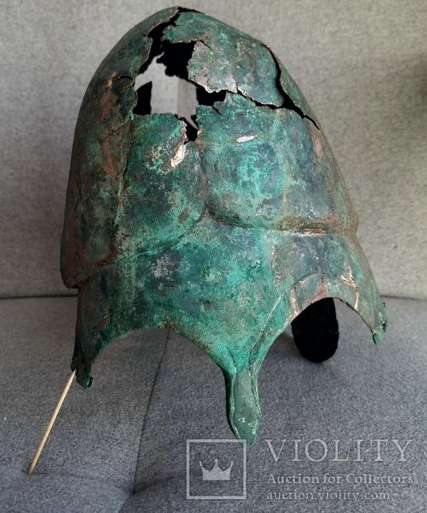Греческий шлем Халкидского типа