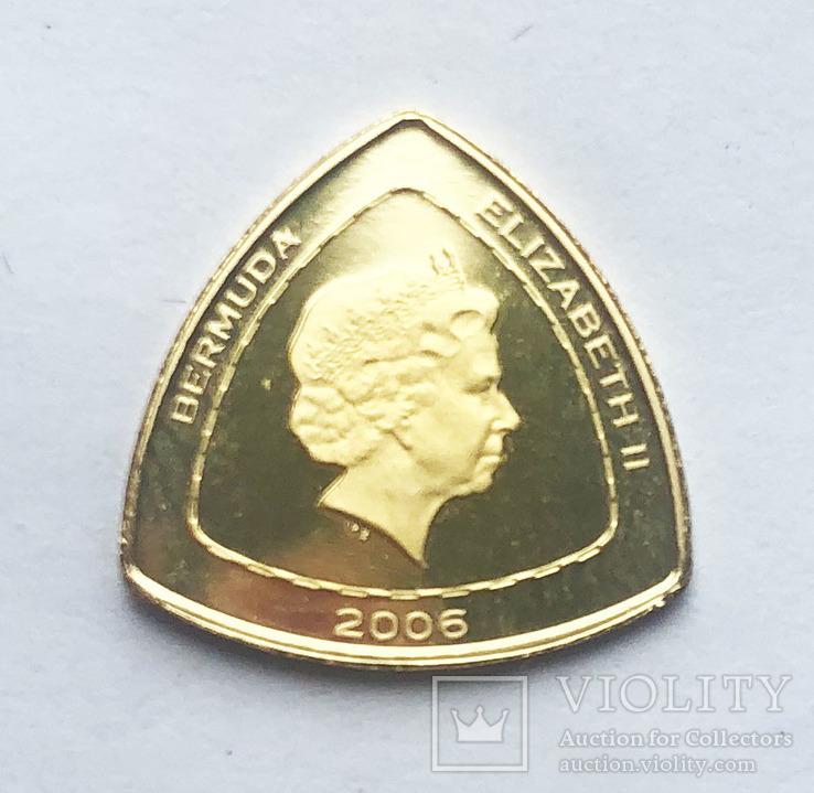 3 доллара 2006 года. Бермудские острова., фото №3