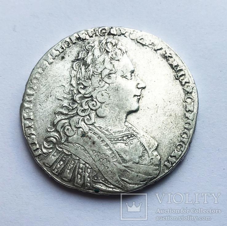 Рубль 1728 года. (Без звезды на груди), фото №5