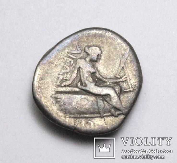 Острів Евбея, м.Гістіея (Ореос), срібний тетробол, ІІІ-ІІ ст. до н.е., фото №10