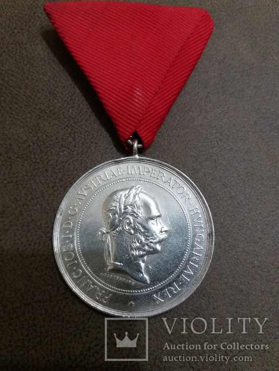 Медаль за развитие коневодства Австро-Венгрия, фото №2