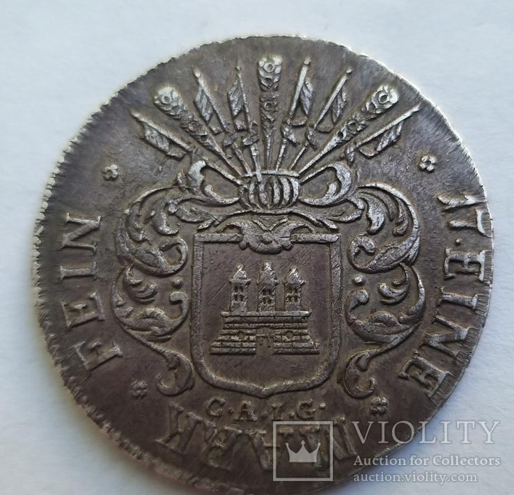 32 шиллинга 1809 год Гамбург, фото №5