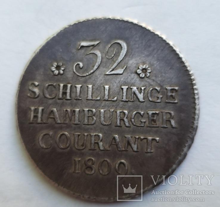 32 шиллинга 1809 год Гамбург, фото №7