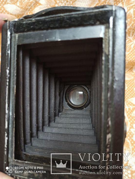 Немецкая камера Объектив Meyer-Görlitz Trioplan 1:4.5 F=10cm, фото №3